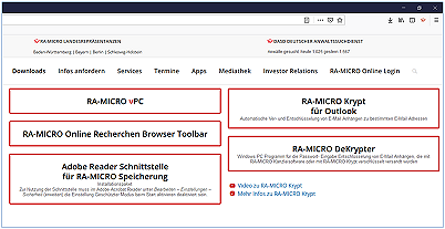 Download RA-MICRO Outlook Verschlüsselung